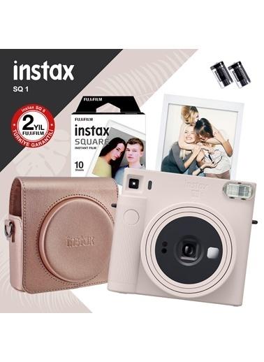 Fujifilm Instax Sq1 Beyaz Fotoğraf Makinesi Ve Hediye Seti 3 Beyaz